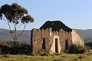 House ruins on farm lands